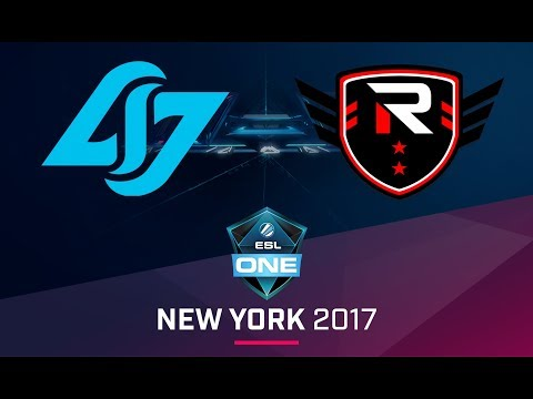CS:GO - CLG vs. Rise Nation [Cbble] Map 1 - Semifinal - ESL One New York 2017 NA Qualifier
