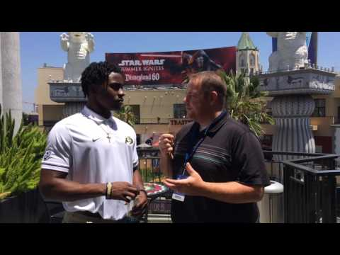Buffzone.com interview with Colorado's Chidobe Awuzie at Pac-12 media days in Hollywood