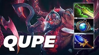 Qupe Super Pudge | Roaming | Dota 2 Pro Gameplay