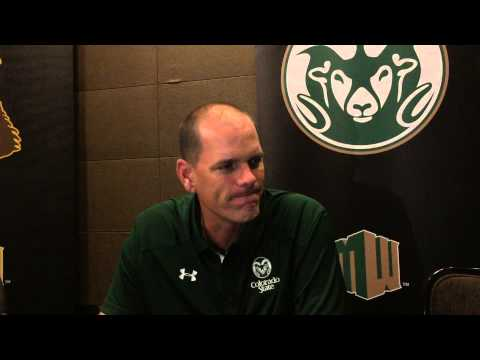 MWC Media Day: Colorado State coach Mike Bobo