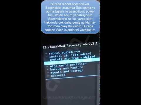LG Optimus 4X HD (P880) CWM Recovery Yükleme