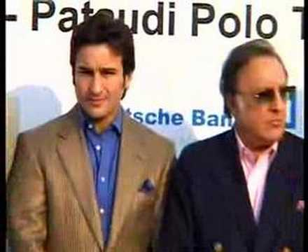 Saif Ali Khan and Mahendra Singh Dhoni without SRK Ad Film Video