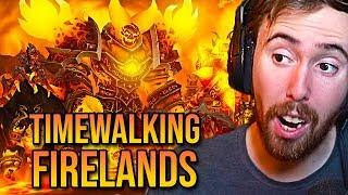 Asmongold World First Timewalking Firelands Raid Clear (WoW Patch 8.2.5)