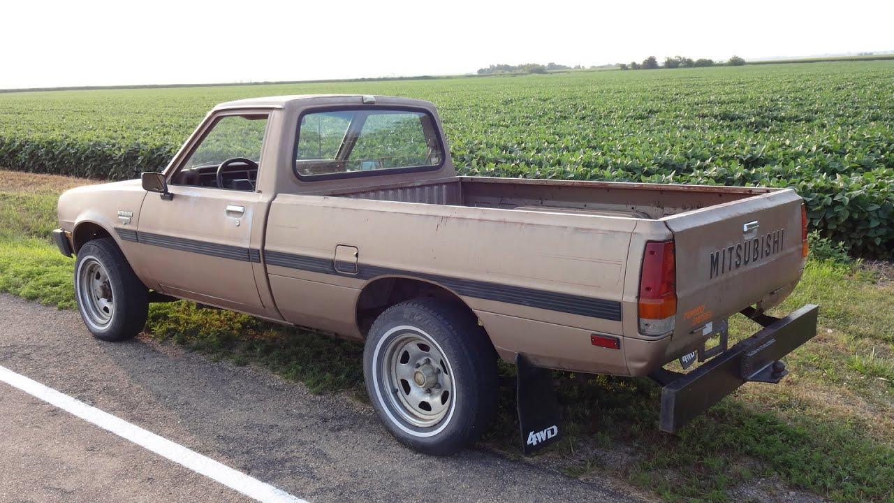 1985 Mitsubishi Mighty Max 4x4 5 Spd Turbo Diesel Mini