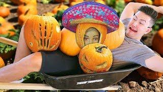 Pumpkin Carving Challenge!!