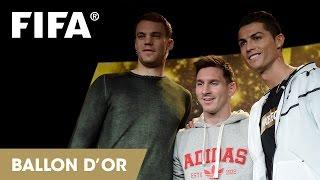 REPLAY: Messi, Ronaldo and Neuer talk FIFA Ballon d'Or 2014
