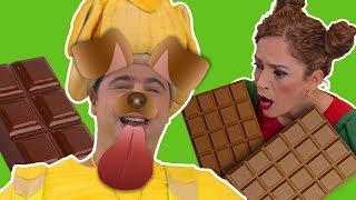 فوزي موزي وتوتي – شوكولاتة الكلب – Dog's chocolate