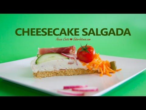 Receita de Cheesecake Salgada