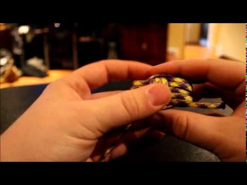 Easy Monkey fist Paracord instruction.