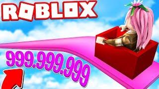 LO SCIVOLO DA 999.999 METRI DI ROBLOX!! *SPETTACOLARE*