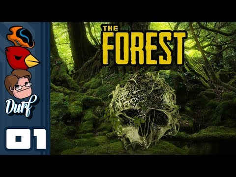 Let's Play The Forest [Multiplayer] - PC Gameplay Part 1 - The Raft Saga Continues