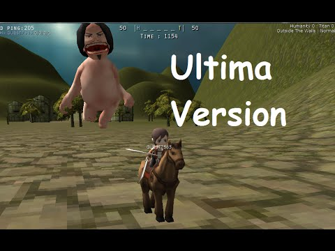 Descargar Attack on Titan Tribute Game Ultima Version || Montando Caballos-Ser Titan