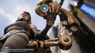 Unreal Engine 4 Official 2017 Features Trailer