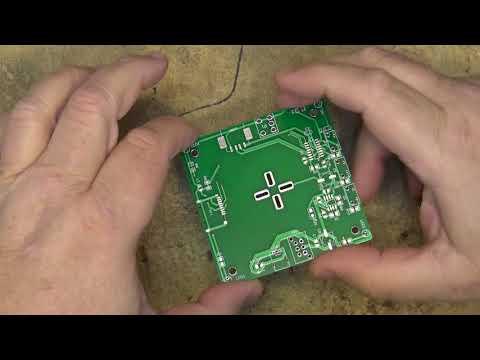 ICStation DIY Flashing xmas display mp3 player kit build