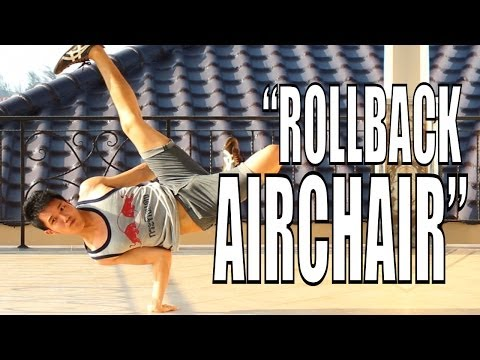 Bboy Tutorial I How To Rollback Airchair I Airchair Series Part 2 video