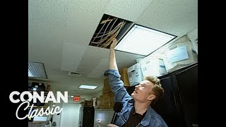 "Conan Gives A Tour Of The ""Late Night"" Offices - Conan25: The Remotes"