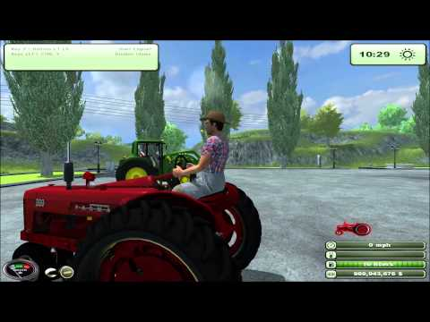 Mod for Farming Simulator 2013 1955 Farmall 300 REVIEW