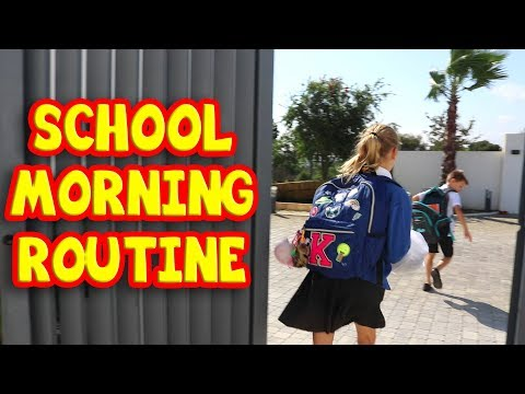SCHOOL MORNING ROUTINE!!! SIS vs BRO