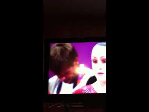 Jordyn Wieber-Guy picking his nose