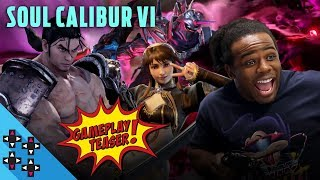 SOULCALIBUR 6 roster reveal with Maximilian Dood - UpUpDownDown Plays