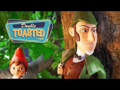 SHERLOCK GNOMES MOVIE REVIEW - Double Toasted Reviews