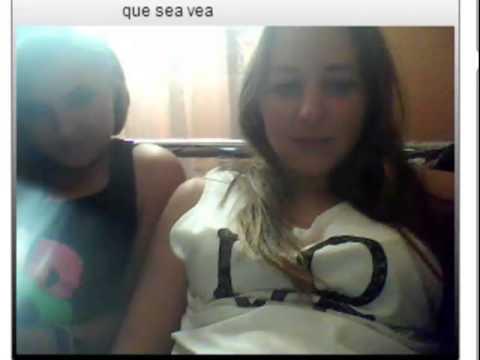 2 Lesbianas españolas en Chatroulette