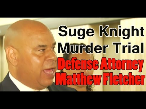 Suge Knight's attorney Matt Fletcher on $25 milllion bail during press conference