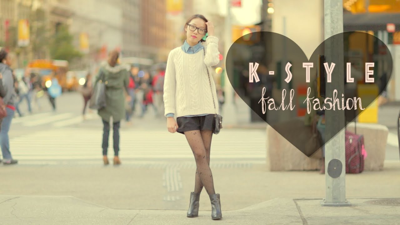 Korean Fashion Trends Fall