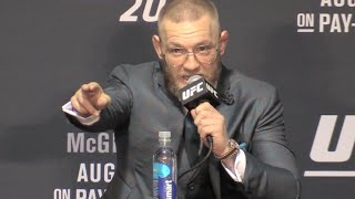"Conor McGregor Analyzes Fight: ""You Gotta Respect Nate Diaz"" (UFC 202)"