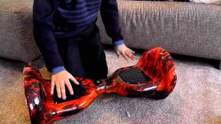 Hoverboard Segway Opening the 10 inch wheel one with blue tooth