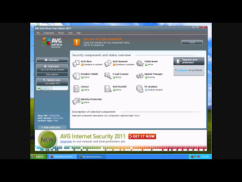 Free Anti-Virus - How to Install AVG Anti-Virus 2011