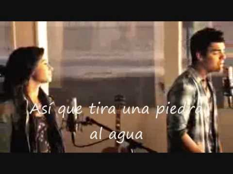 Joe Jonas & Demi Lovato - Make A Wave (Traducido en español) -Official Music Video