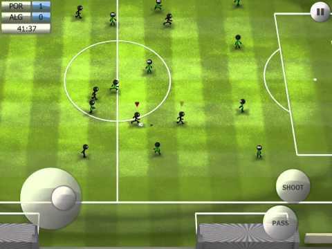 Stickman Soccer 2014 - Portugal 2 / Algeria 0
