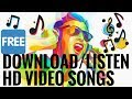 Listen/Download HD Video Songs On Your Phone Easily | At One Point | One-Click Download |