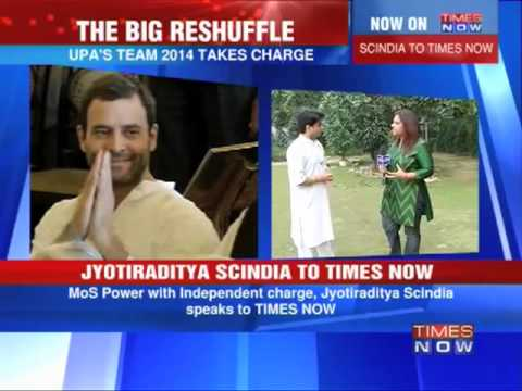 Exclusive: Jyotiraditya Scindia on TIMES NOW