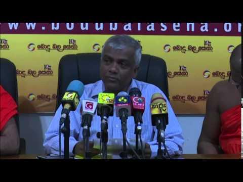 Bodu Bala Sena Special Media Conference 03-06-2015