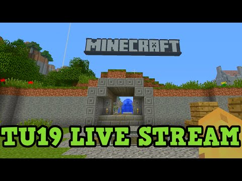 Minecraft Xbox TU19 Gameplay: New Tutorial World LIVE