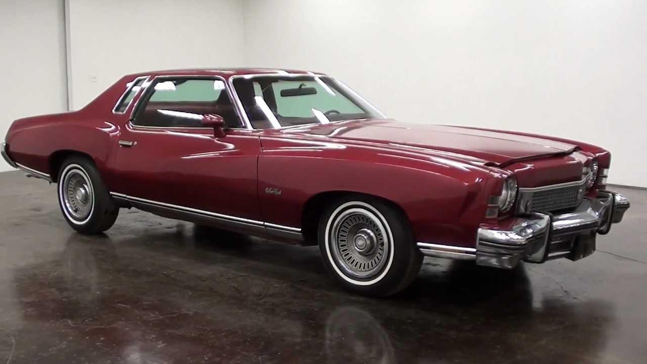 Ss Monte Carlo >> 1973 Chevrolet Monte Carlo - YouTube