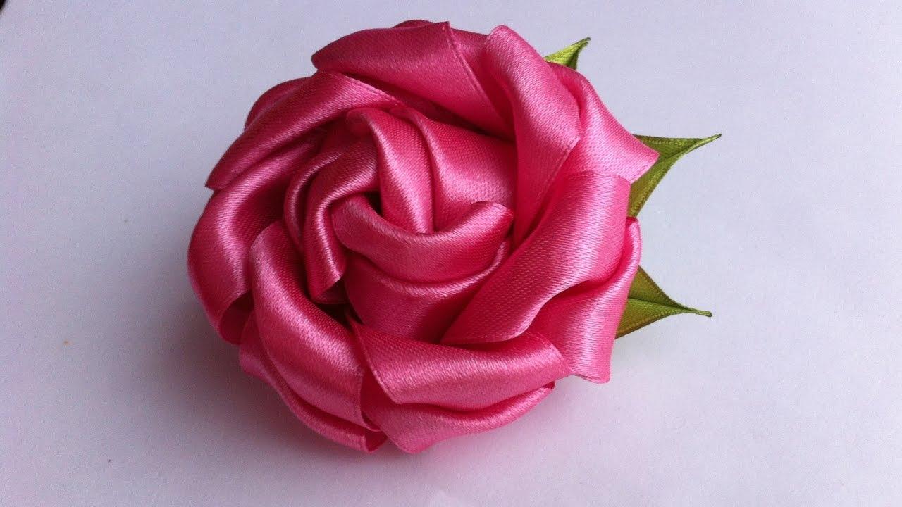 Пышная роза своими руками 131
