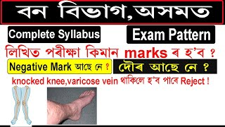 Forest Department, Assam Full Syllabus & Selection procedure 2020