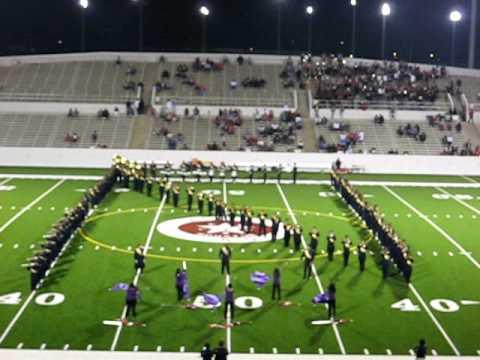 Nimitz High School Band Nimitz High School Halftime