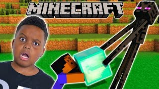 Enderman ATTACKED ME - Minecraft #1