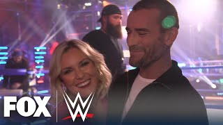 EXCLUSIVE: CM Punk and the WWE Backstage crew react to his shocking debut | WWE ON FOX