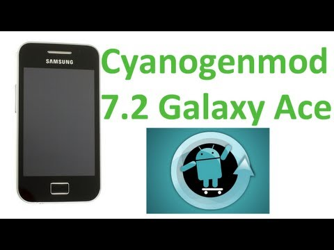 Cyanogenmod 7.2 para Android (Samsung Galaxy Ace)   Review - TheVigoFlax