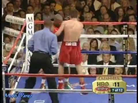 How to Box -Oscar De La Hoya Vs. Floyd Mayweather