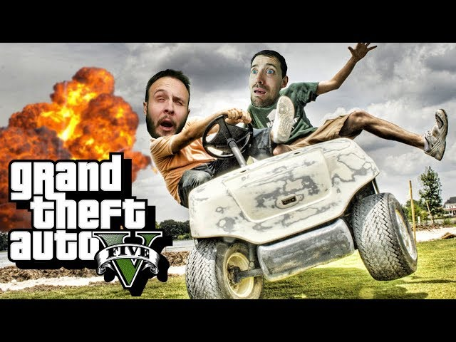 CART CATASTROPHE - GTA 5 Gameplay