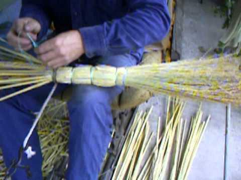 Видео вязание веников