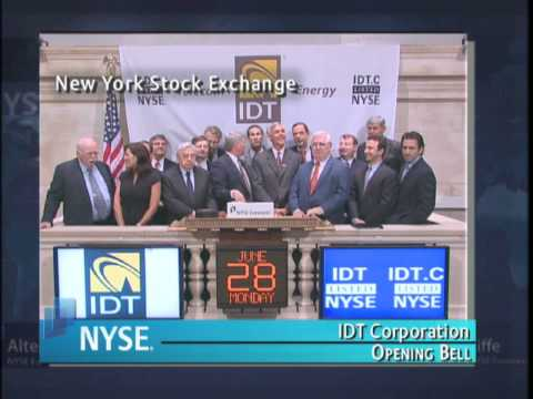 28 June 2010 IDT Corporation Visits NYSE to Mark Successful Turn-Around Program