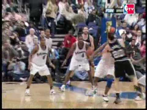 manu Ginobili top 10 plays of 2008 Video