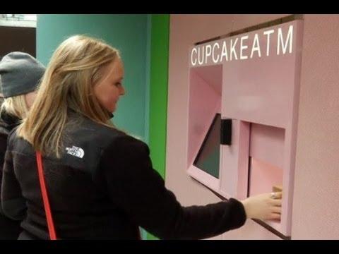Mesin Otomatis Cupcake Pertama New York
